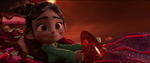 Vanellope Practices Racing In Diet Cola Mountain