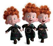 Triplets-Brave