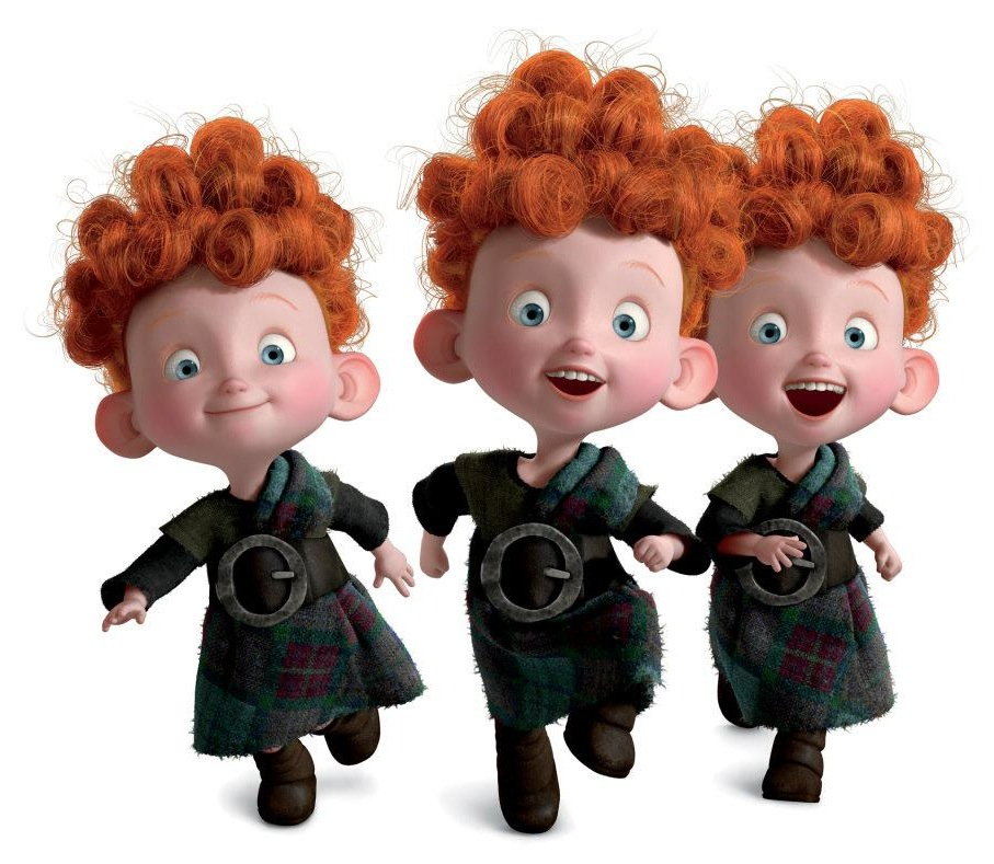 Image result for HAMISH, HUBERT, & HARRIS FROM BRAVE