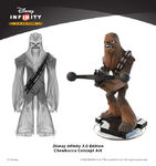 Concept Chewbacca-Disney Infinity 3.0