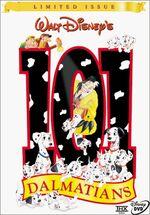 101Dalmatians LimitedIssue DVD