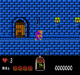 File:Beauty and the Beast NES Gameplay.png