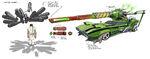 MC101 3D B171 Mutt with Collassal Gun v4 bc
