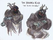 Horned King Concept Art