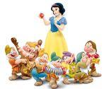 Snow White Doc Dopey Sneezy Happy Bashful Sleeping Grumpy