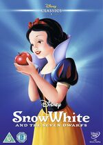 Snow White and the Seven Dwarfs UK DVD 2014 Limited Edition slip cover