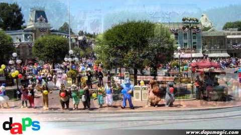 Disneyland's 56th Anniversary Birthday Celebration in Town Square July 17, 2011