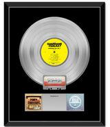 GOTG Awesome Mix Vol. 1 Platinum Album