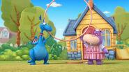 Stuffy and hallie big hula hoop