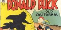Donald Duck in Old California!