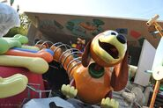 Slinky Dog Zig Zag Spin at Walt Disney Studios Park France