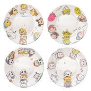 Tsum Tsum Plate Set