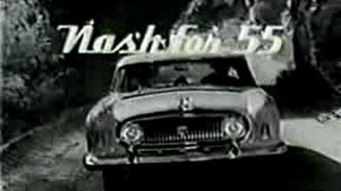 1955 Nash TV Ad with Mickey & Pluto!