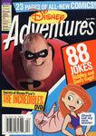 Disney Adventures Magazine cover April 2005 The Incredibles