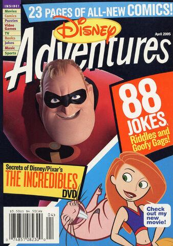 File:Disney Adventures Magazine cover April 2005 The Incredibles.jpg