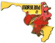 State Character Pins Maryland