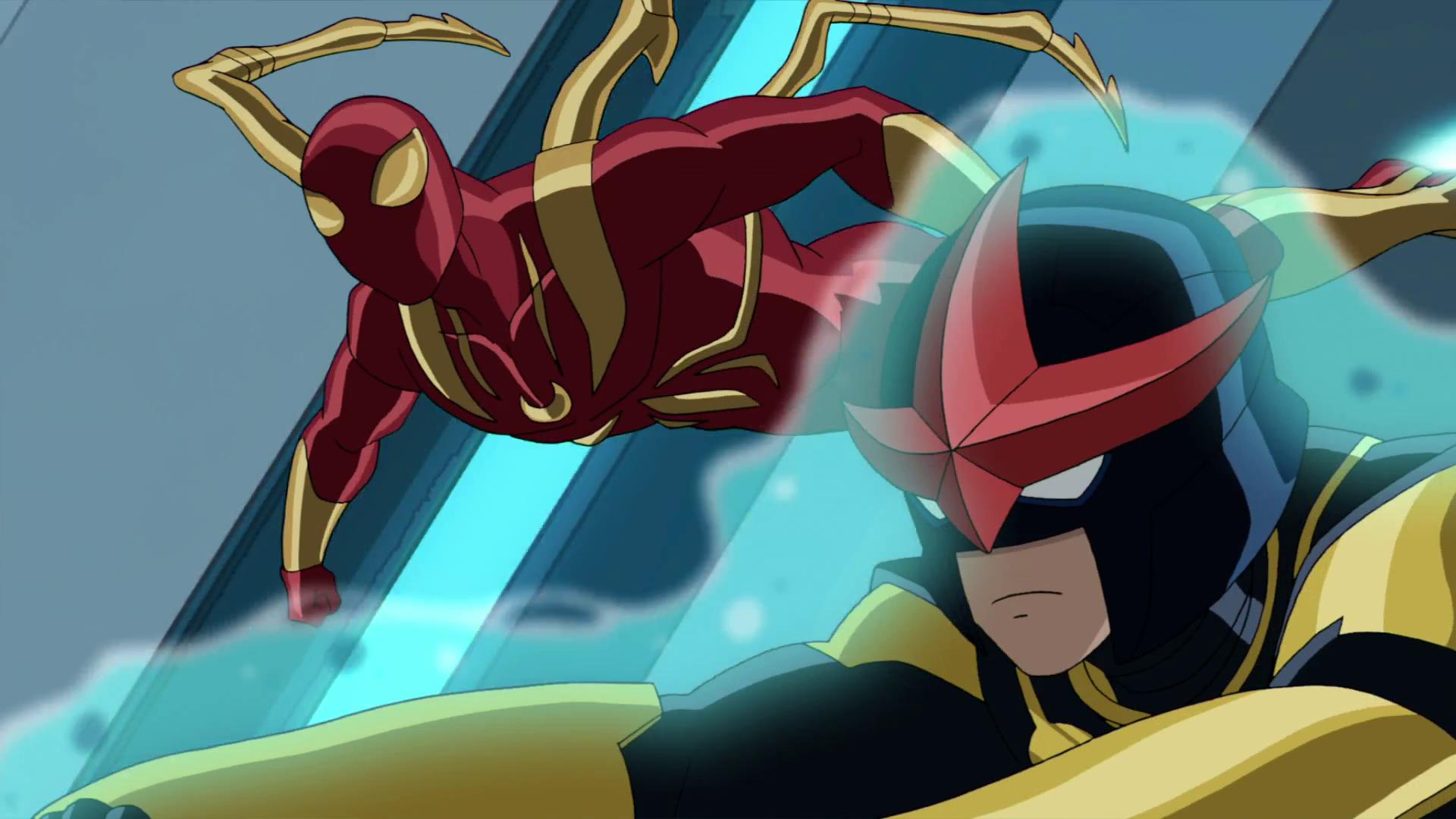 Image - Iron Spider & Ultimate Nova USMWW.png | Disney ...
