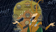 Loki and the nine realms