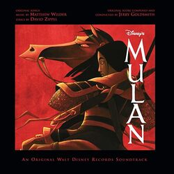 Mulan film soundtrack album cover