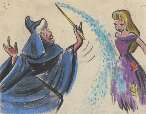 File:Cinderella and Fairy Godmother Concept Art 1.jpg