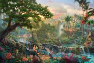 Kinkade-Wallpaper-The-Jungle-Book-Thomas-Kinkade-STUDIOS-Walt-Disney-painting-animation