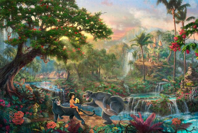 File:Kinkade-Wallpaper-The-Jungle-Book-Thomas-Kinkade-STUDIOS-Walt-Disney-painting-animation.jpg