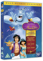 Aladdin Musical Masterpiece UK DVD
