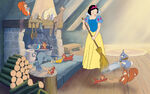 Disney Princess Snow White's Story Illustraition 6