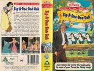 Zip a Dee Doo Dah UK VHS Cover