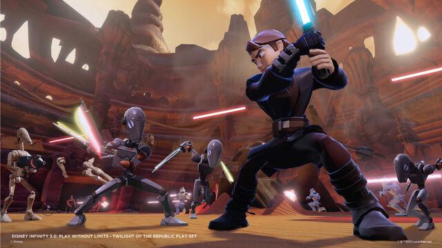 File:Disney INFINITY TOTR PlaySet Anakin 3.jpg