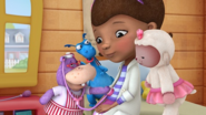 Doc McStuffins is sick