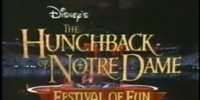 The Hunchback of Notre Dame: Festival of Fun Musical Spectacular