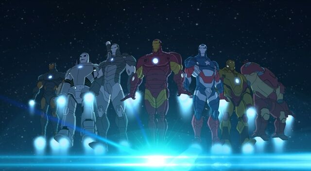 File:Iron Man's Armors.jpg