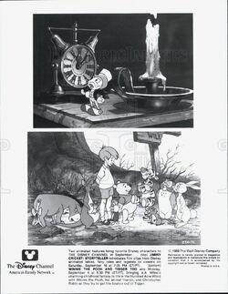 Jiminy Cricket Storyteller Press Photo