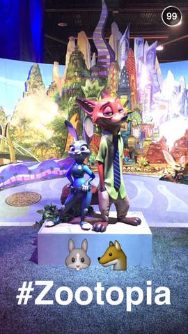 File:Zootopia Statue at D23.PNG