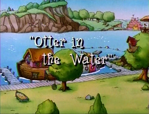 File:Otter in the Water.png