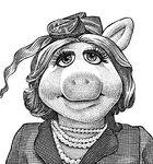 Piggy wsj portrait