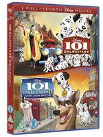 101 Dalmatians 1-2 2012 Box Set UK DVD
