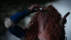 Once Upon a Time - 5x06 - The Bear and the Bow - Merida drinks Vile