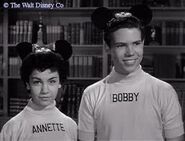 Bobby and Annette Funicello