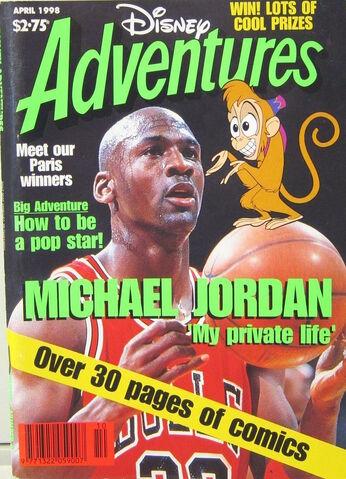File:Disney Adventures Magazine australian cover April 1998 Michael Jordan.jpg