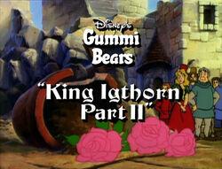 Gummi Bears King Igthorn Part 2 Title Card