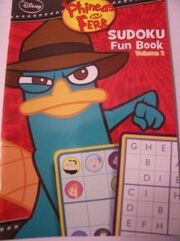 Phineas and Ferb Sudoku Fun Book Volume 2