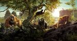The Jungle Book 2016 Textless Banner