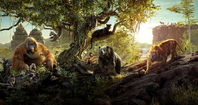 File:The Jungle Book 2016 Textless Banner.jpg