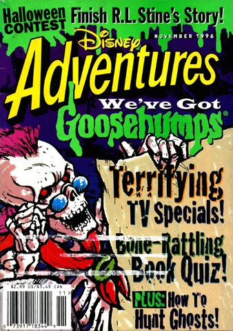 File:Disney Adventures Magazine cover November 1996 Goosebumps.jpg