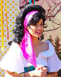 Esmeralda Disneyland Cloe Up