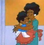 Schoolhouse Rock Verb- Boy hugs his Mom