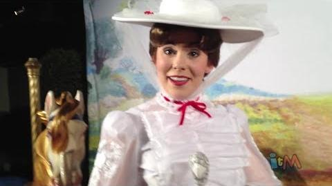 Mary Poppins and Bert meet at Great Movie Ride for Saving Mr