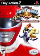 Power Rangers Super Legends 15th Anniversary Cover